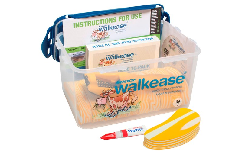 Walkease Klauenbehandlung Starter-Set, M, 10er-Pack
