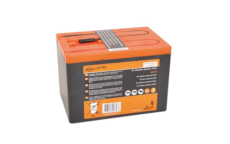Batterie Powerpack 9 V 120 Ah